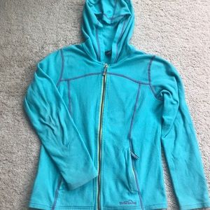 Eddie Bauer Kids L Light Blue Fleece